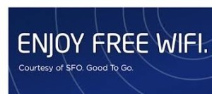 San Francisco airport amenities - free wifi!